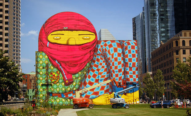 Os gemeos - Boston