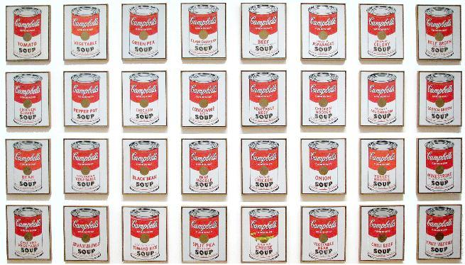 32 soup cans
