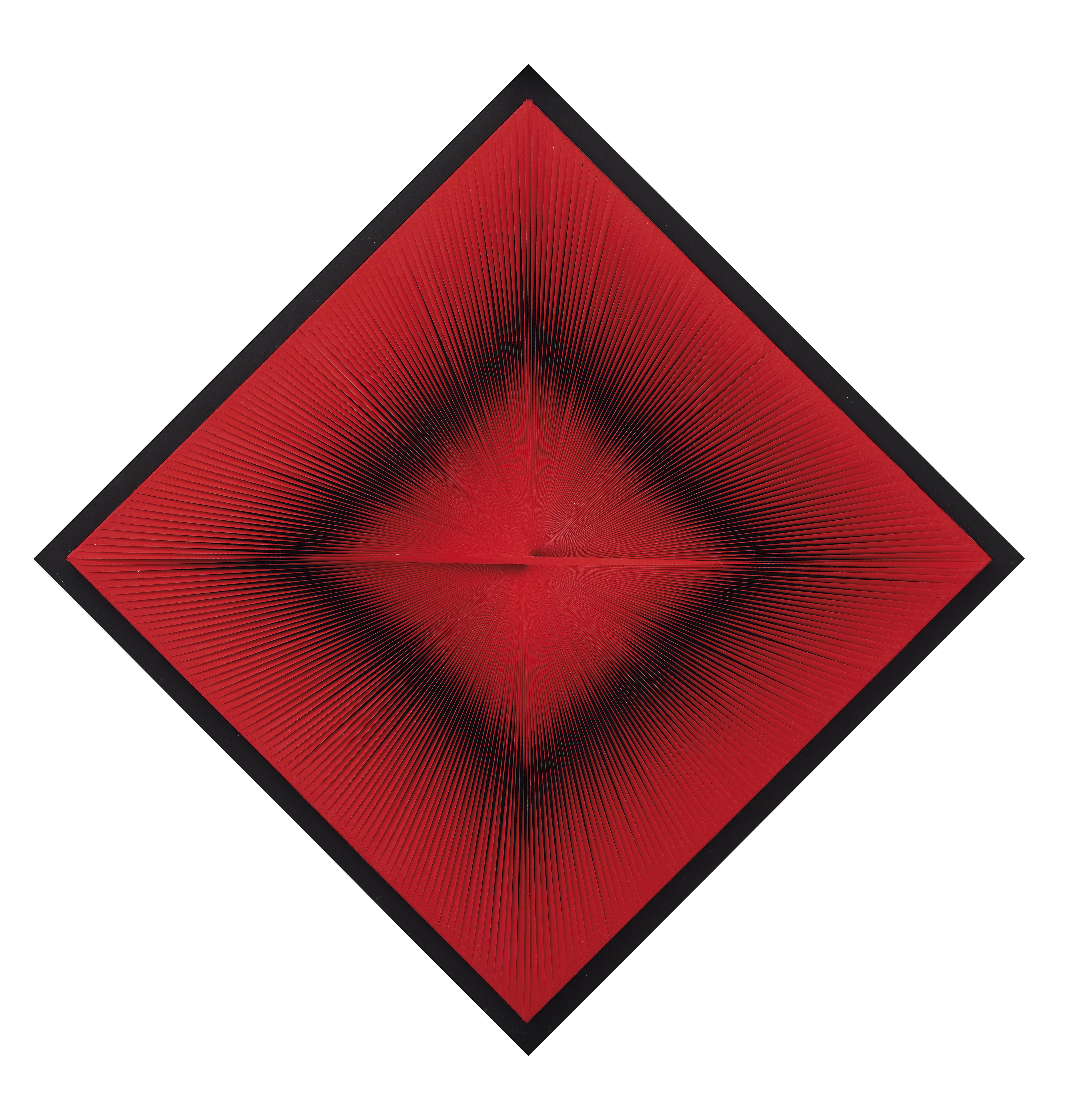 Toni Costa, Estructura óptico-dinámica roja, 1965