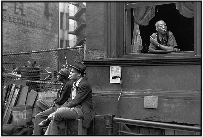 Harlem, New York, 1947 by Henri Cartier-Bresson