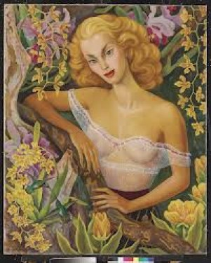 Retrato de Linda Christian x Diego Rivera