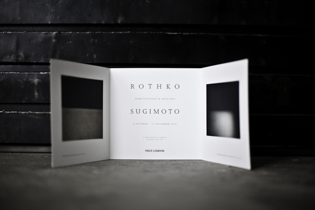 rothko sugimoto at pace london