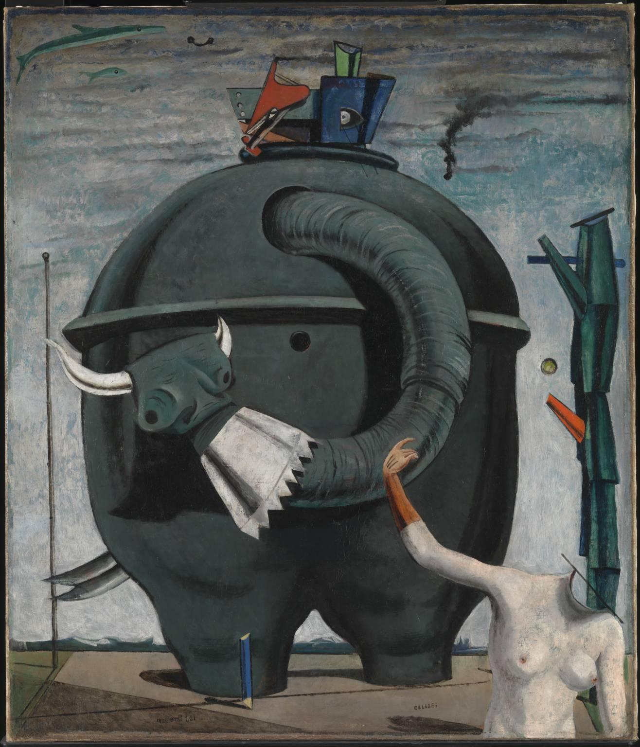 Celebes 1921 by Max Ernst 1891-1976