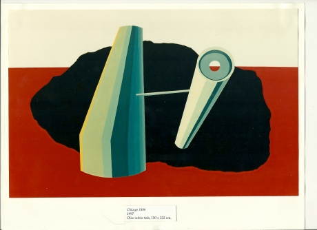 Magdalena Jitrik - Chicago 1886 - 1997 . 150x232 - Oleo sobre tela