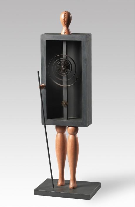 Roberto Aizenberg - Escultura - 1964 - Madera pintada - 77x24,7x17,7