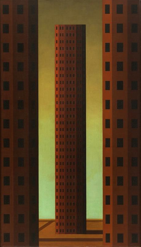 Roberto Aizenberg - Pintura - 1965 - Oleo s tela - 80x46
