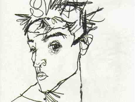 schiele.self-portrait