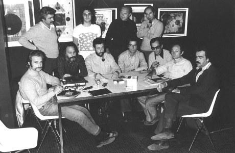 1. Grupo de los Trece (parte de su  primera conformación) hacia 1972