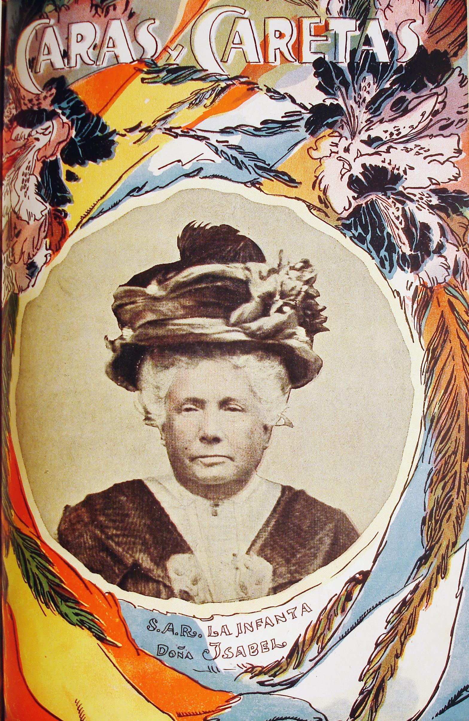 Anónimo Visita de la infanta Isabel en el Centenario, 1910 Revista Caras y Caretas, Buenos Aires Col. Museo de la Ciudad, Buenos Aires