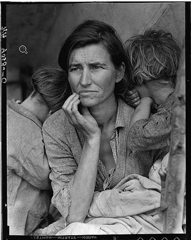 Migrant Mother - Dorothea Laneg