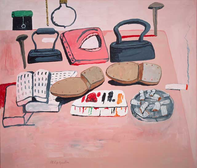 Philip-Guston-The-Painters-Table-oil-on-canvas-1973