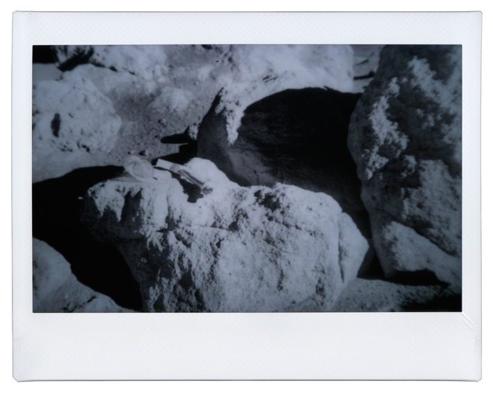 Boulder Formation Moon