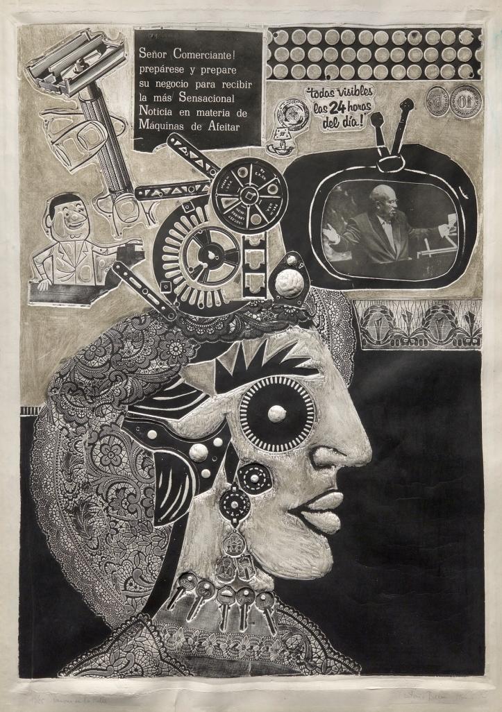 Antonio Berni. Ramona en la calle, 1964. The Museum of Fine Arts, Houston