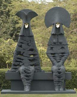 Las esculturas pacíficas del inglés PeterJackson